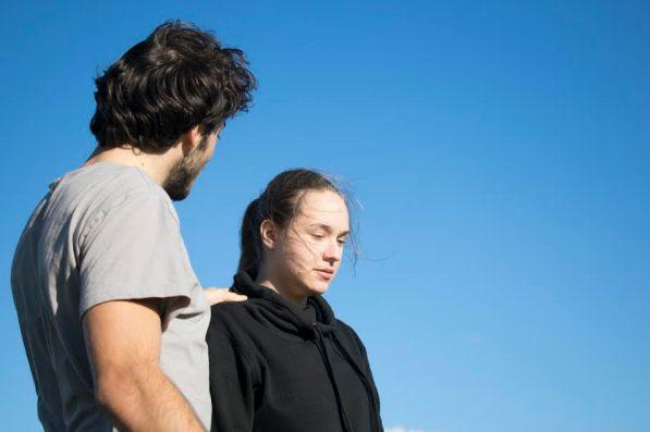 """""""Soon, soon, soon."""" (Duncan Hodgkinson and Magdalena Skerencak, in rehearsal)"""
